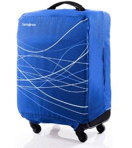 Samsonite Foldable Luggage Cover Large - Blue