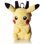 Pokemon Boys' Pikachu Plush Backpack
