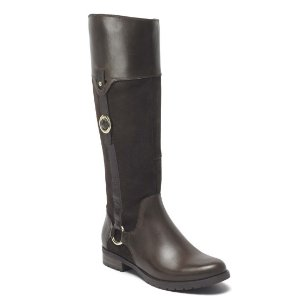 Tristina Buckle Riding Boot