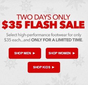 $35 Flash SaleSelect Footwear @ Joe's New Balance Outlet