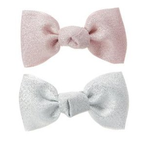 Sparkle Bow Barrettes 2-Pack at Crazy 8