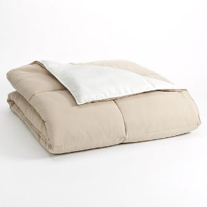 As Low As $22.39 Home Classics Reversible Down-Alternative Comforter, Twin
