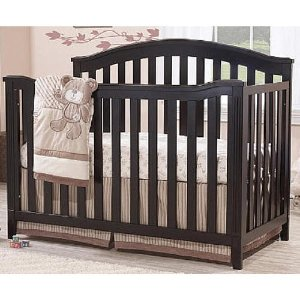 Start! $99.99 Sorelle Berkley 4-in-1 Convertible Crib