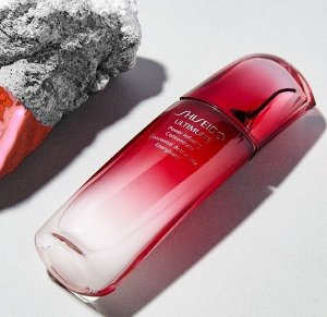 Free 17 gifts With Any $50 Shiseido Purchase @ Nordstrom