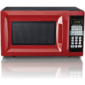 $35 Hamilton Beach 0.7 cu ft Microwave Oven, Black