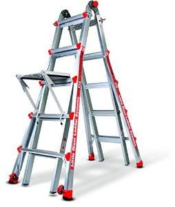 Little Giant Alta One 22 Foot Ladder with Work Platform (250-lb. Weight Rating)