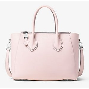 Helena Small French Calf Leather Satchel | Michael Kors