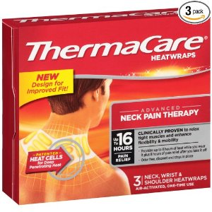 $8.54 + Free Shipping ThermaCare Air-Activated Neck, Wrist, & Shoulder Pain Therapy 3 Heat wraps ( Pack of 3)