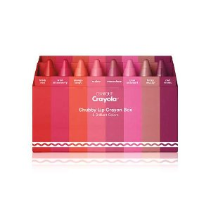Clinique Crayola合作款蜡笔唇膏套装