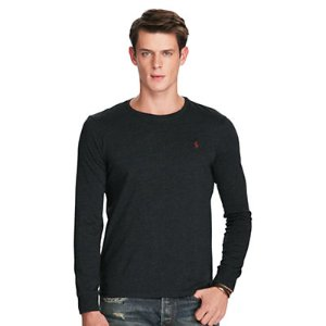 Custom-Fit Long-Sleeve T-Shirt - Tees � T-Shirts & Sweatshirts - RalphLauren.com