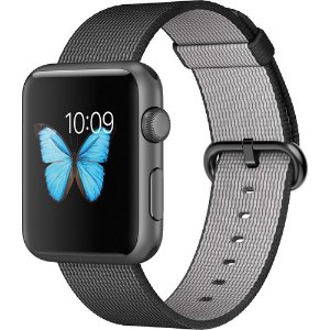 $189.95 Apple Watch (2015) 42mm Silver Aluminum Case-White Sport Band