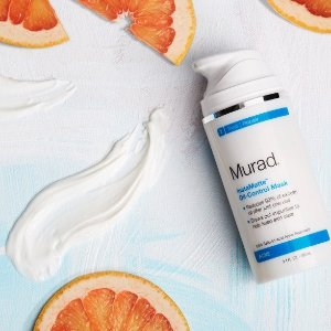 $25 Off + Two Samples + Free Shipping With any $100 Order @ Murad Skin Care