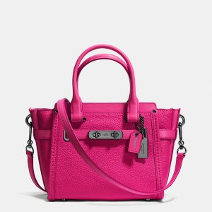 COACH swagger 21 in pebble leather by Coach