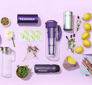 $15 off your order of $50or choose to get 20% off sitewide @Teavana