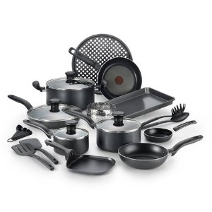 2016 Black Friday! $49.99T-fal 20Pc Nonstick Cook Set