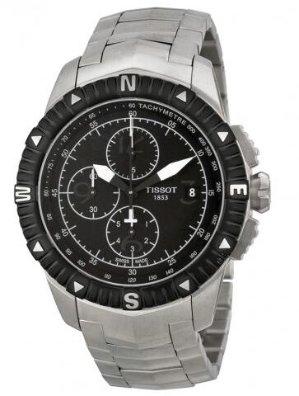 TISSOT T-Navigator Chronograph Black Dial Men's Watch T062.427.11.057.00
