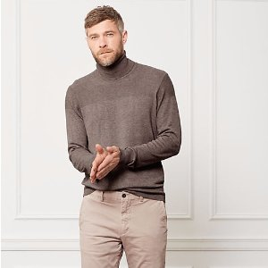 English Rolled Neck Sweater - JackSpade