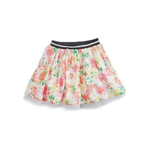 Printed Tulle Skirt (2-6x) | guess kids
