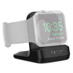 Spigen Apple Watch Stand Premium TPU Compatible with Apple Watch Nightstand Mode