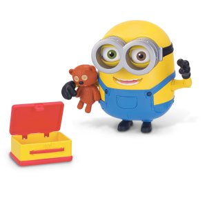 Minions Deluxe Action Figure - Bob with Teddy Bear