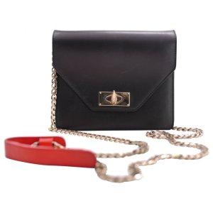 black Plain Leather GIVENCHY Handbag - Vestiaire Collective