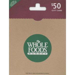 Whole Foods Market $50: Amazon.com: Gift Cards
