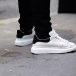 Alexander McQueen Oversized Sneakers @ SSENSE