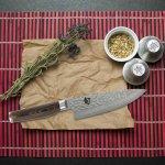Shun TDM0723 Premier Chef Knife, 6-Inch