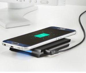 Insignia™  Qi Wireless Charging Mat  Black