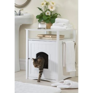 Merry Products Hidden Cat Litter Box Enclosure