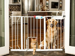 $25.49Carlson 44-Inch Extra Wide Walk Through Gate with Pet Door, 29 to 44-Inch