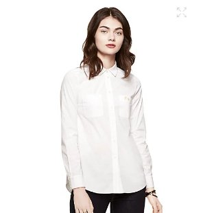 $47.25(reg.$128.00) kate spade mrs. poplin button down