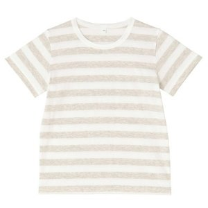 Girls Stripe Short Sleeves T Shirt