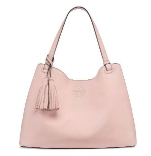 THEA CENTER-ZIP TOTE @ Tory Burch