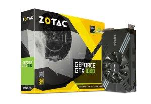 $199 ZOTAC GeForce GTX 1060 Mini 3GB GDDR5 Graphics Card