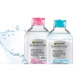 Garnier SkinActive Micellar Cleansing Water All-in-1 Cleanser and Makeup Remover, 13.5 Fluid Ounce