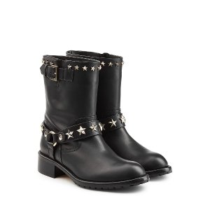 Leather Ankle Boots  from RED VALENTINO | Luxury fashion online | STYLEBOP.com
