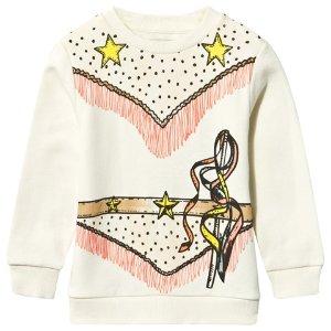 Stella McCartney Kids Cream Betty Cowgirl Sweater | AlexandAlexa