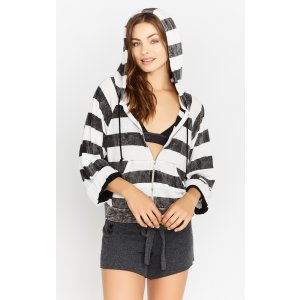 Rugby Stripe Hoodie & Striped Hoodie | Wildfox