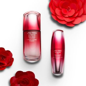 Free Deluxe Samples of Ultimune Power Infusing Concentrate & Ultimune Eye Power Infusing Concentratewith any moisturizer purchase @ Shiseido