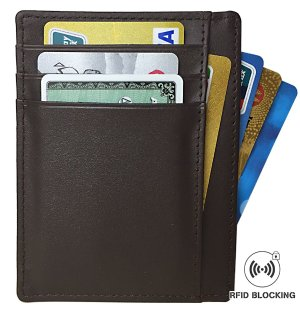 $3.99 RFID Blocking Leather Slim Wallet