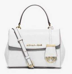 $93.45(Org. $178) MICHAEL MICHAEL KORS Ave Extra-Small Saffiano Leather Crossbody Sale @ Michael Kors