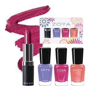 Zoya Nail Polish Vibrant Petals Quad