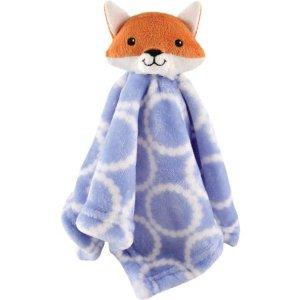 Hudson Baby Security Blanket, Blue