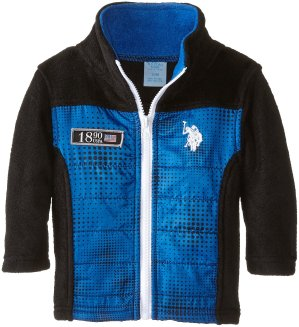 Starting from $4.11 U.S. Polo Assn. Baby-Boys Infant Mock-Neck Polar-Fleece Jacket