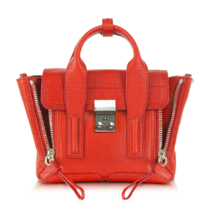 3.1 Phillip Lim Pashli Mini Satchel Vermillion | Blue&Cream