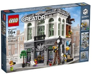 $169.95 LEGO Creator Expert Brick Bank Building Kit (2380 Piece)