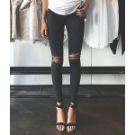 Topshop Moto 'Leigh' Ripped Skinny Jeans @Nordstrom