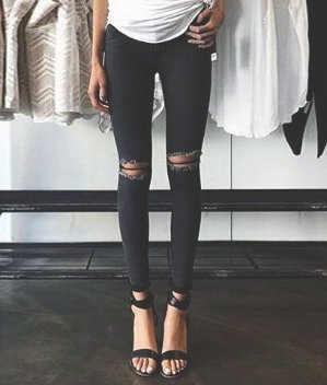 $40 Topshop Moto 'Leigh' Ripped Skinny Jeans @Nordstrom