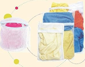 B&E Home Essential Laundry Mesh Wash Bag Set